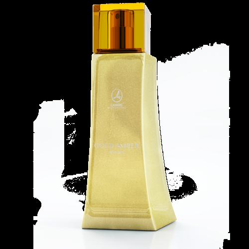 Женская парфюмированная вода 75 мл GOLD AMBER WOMEN