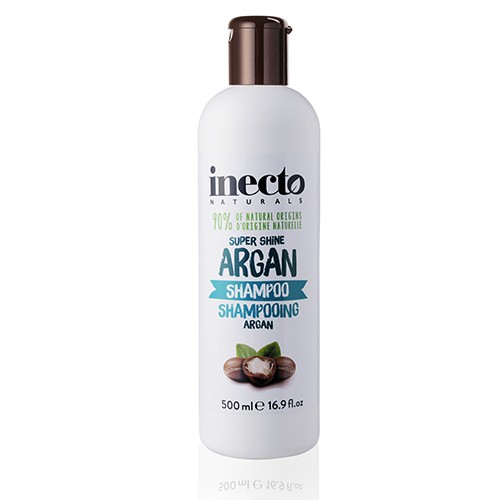 Inecto Naturals Argan Shampoo Увлажняющий шампунь для блеска волос с аргановым маслом Ламбре