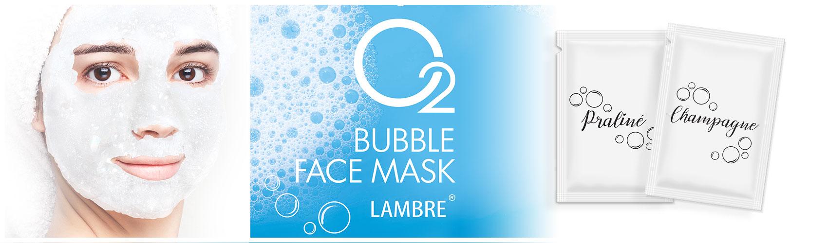 BUBBLE FACE MASK Пузырьковая маска с сильным кислородным действием
