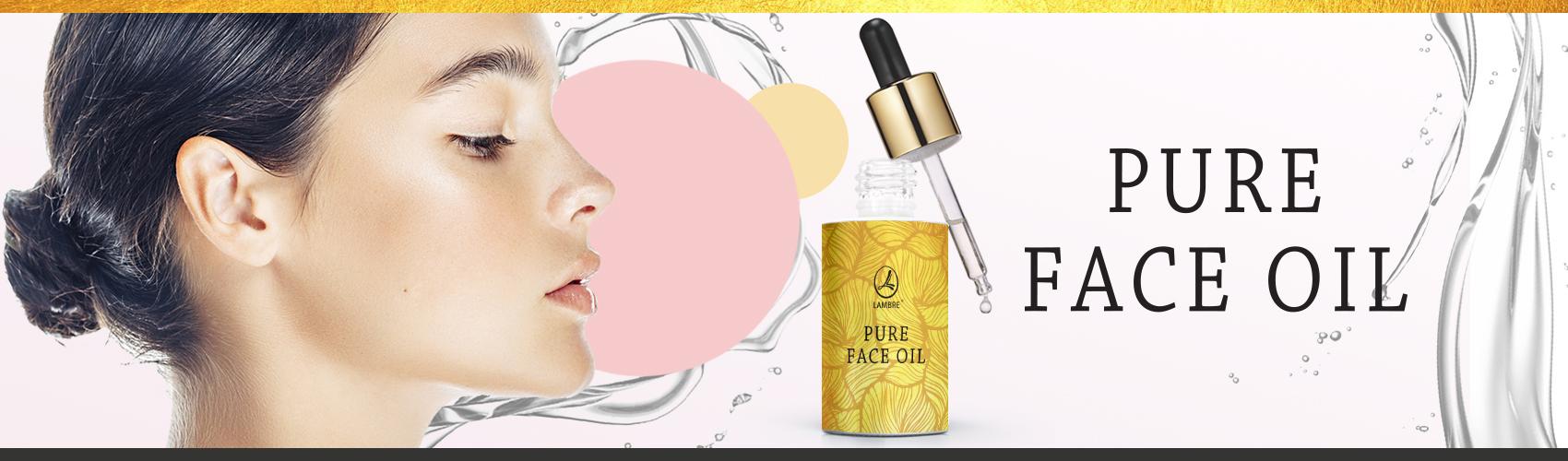 Новика !!! Омолаживающий крем для лица и шеи Pure Face Oil Lambre