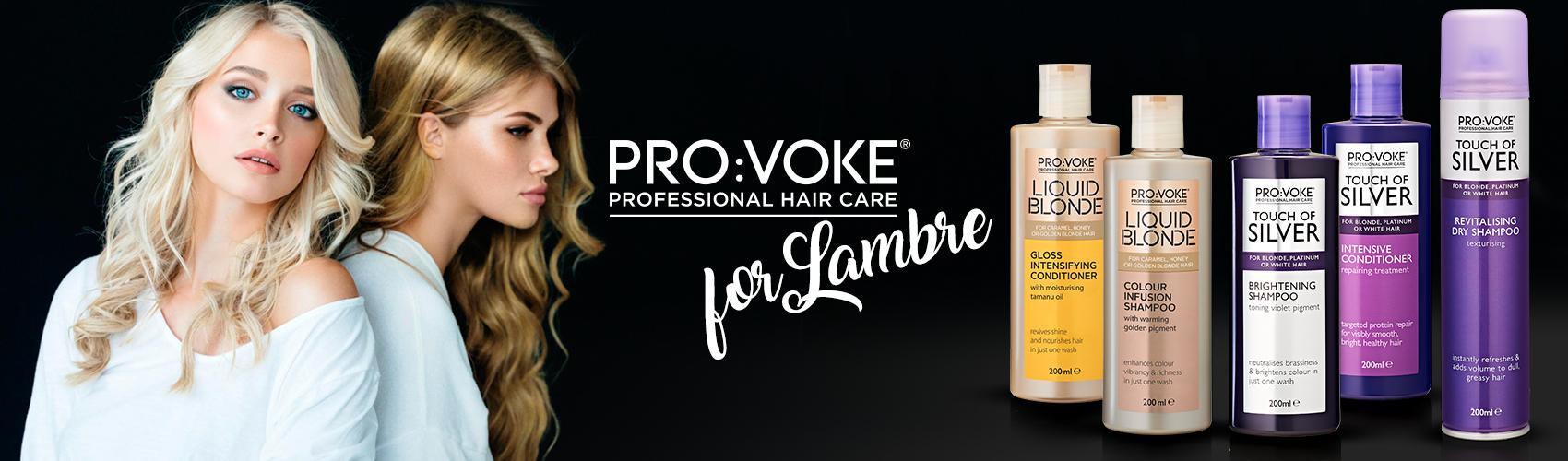 Новинка !!! PRO: VOKE уход за волосами блондинок от Ламбре