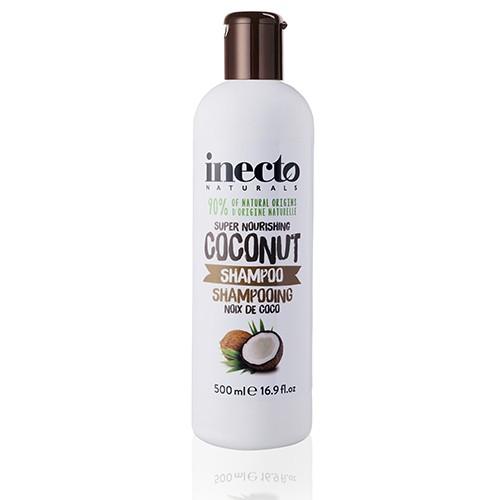 Inecto Naturals Coconut Shampoo Питательный шампунь для волос с маслом кокоса Ламбре