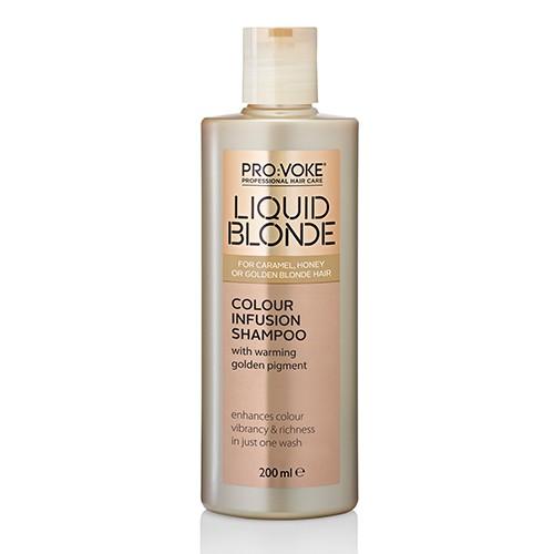 Шампунь усиливающий цвет волос PRO:VOKE Liquid Blonde Colour Infusion Shampoo
