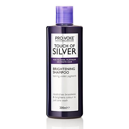 Осветляющий шампунь, устраняющий желтый оттенок PRO:VOKE Touch of Silver Shampoo